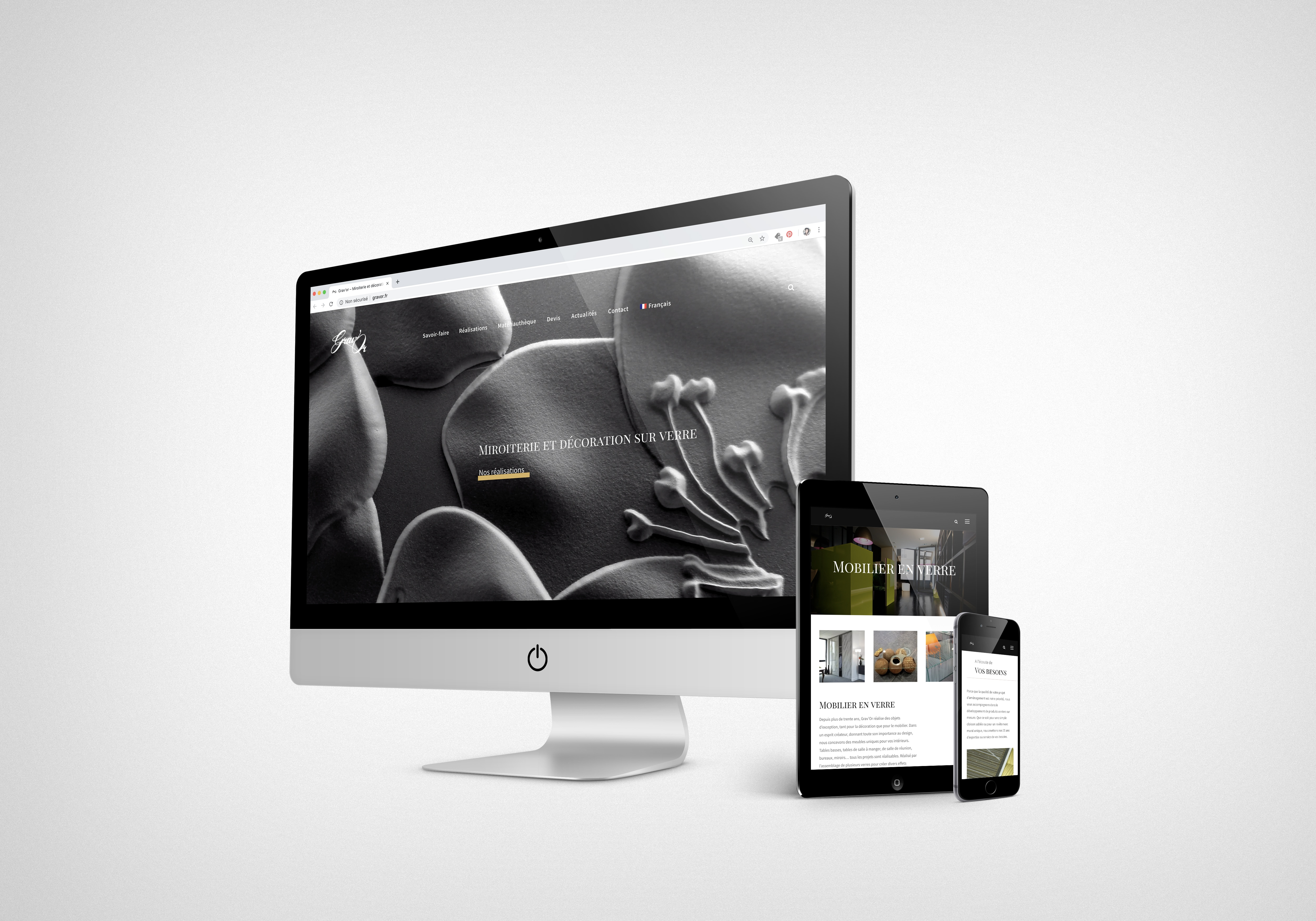 Createur De Site Internet we welcome you on our new web site - grav'or